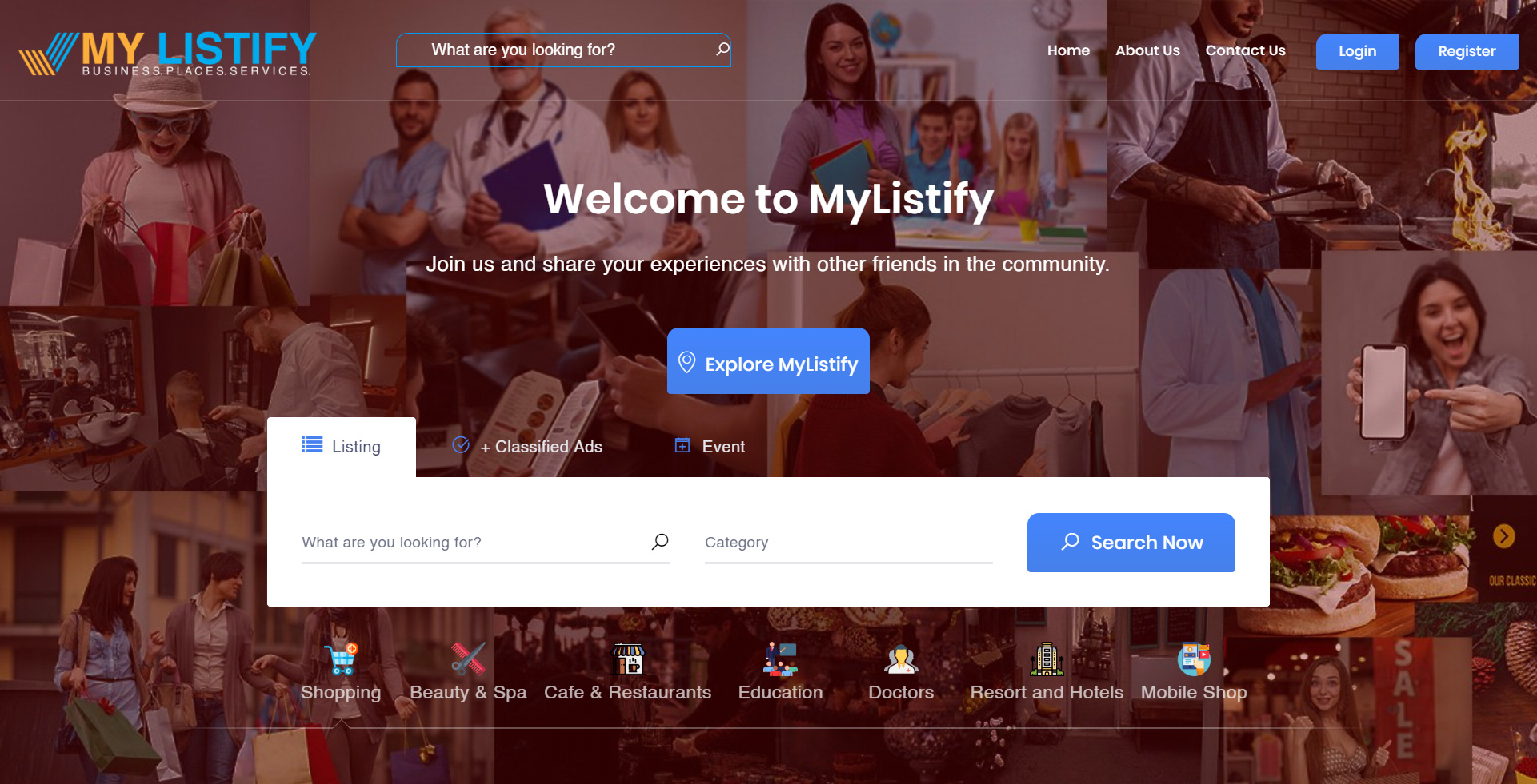 My Listify – Directory & Listing Website