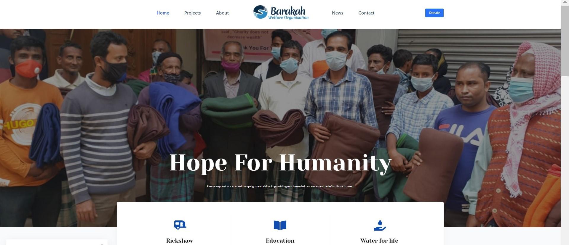 The Barakah Welfare Org.